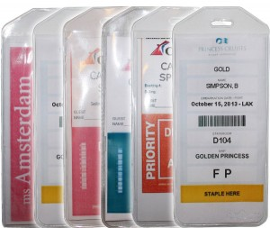 Cruisetags, Cruise Ship Luggage Tags (8 Pack) Cruise Luggage Tags